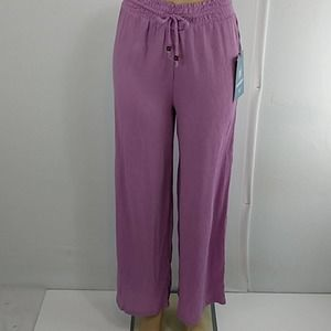 Hydraulic Dusty Lavender Palazzo Paperbag Pants